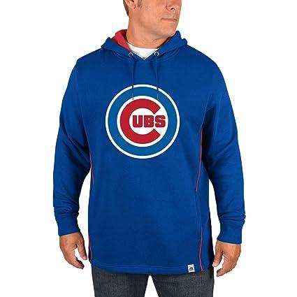 Chicago Cubs Lefty Righty sudadera con capucha para hombre, Azul