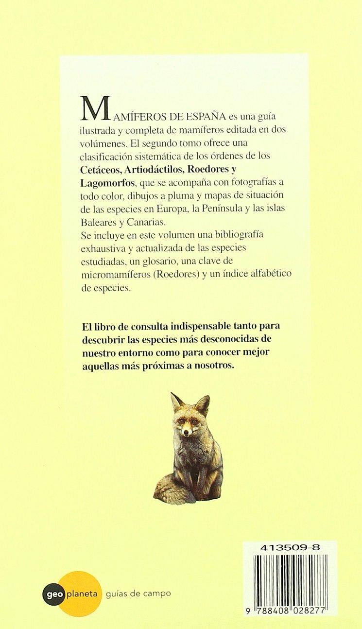 Mamíferos de España, II: Amazon.es: Juan Carlos Blanco: Libros