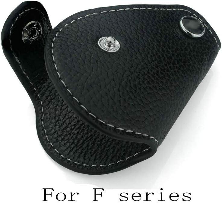 QIDIAN /Étui en Cuir PU pour Mini Cooper R55 R56 R57 R60 R61 F54 F55 F56 F57 F60 pour Mini Cooper Countryman Clubman Noir F Series Black