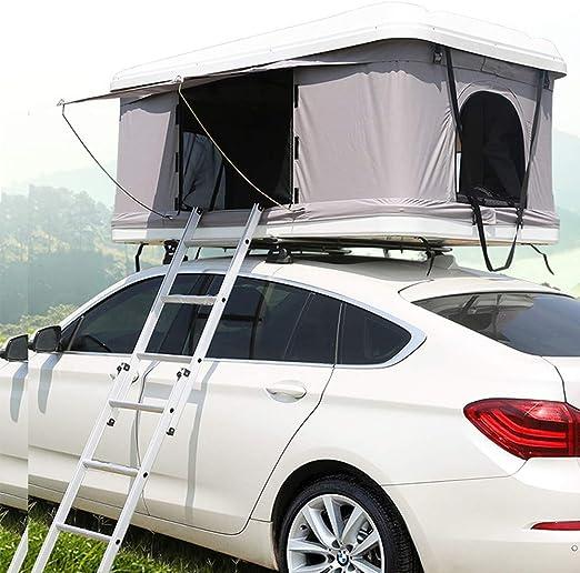 XPHW Carpa De Techo para Acampar Al Aire Libre Carpa De Techo para ABS, Apta para 2-3 Personas, Auto-Todoterreno SUV De Auto-Recorrido: Amazon.es: Hogar