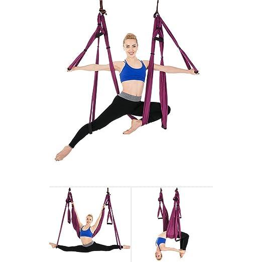 Cuifang Anti-Gravedad Yoga Aéreo Hamaca Stretch ...