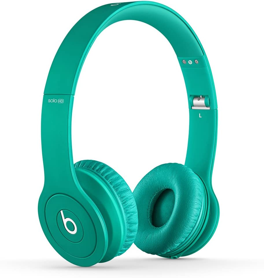 Beats Solo HD Wired On-Ear Headphone - Matte Teal (Discontinued by Manufacturer)