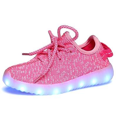 LED Shoes Pink Luminous Light Shoes