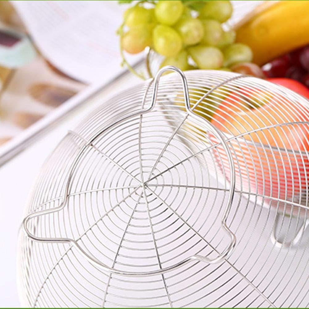 hotel 20 cm 1 Cestello per frutta e pane in acciaio inox per cestino da cucina ristorante cucina