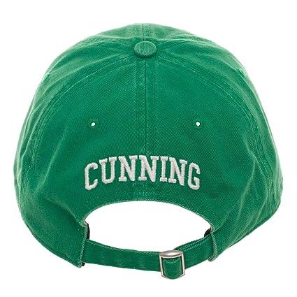 35887f695b6 Amazon.com  Harry Potter Slytherin Adjustable Hat Ball Cap  Clothing