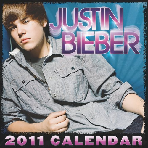 Justin Bieber 2011 Mini Wall Calendar