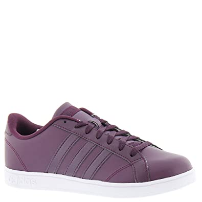 adidas neo donne basale w moda scarpe merlot / grigio 7 b (m) us