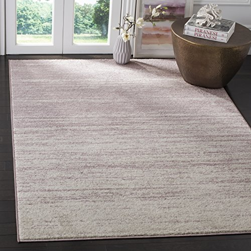 Safavieh Adirondack Collection ADR113L Cream and Purple Modern Abstract Area Rug (8' x 10')