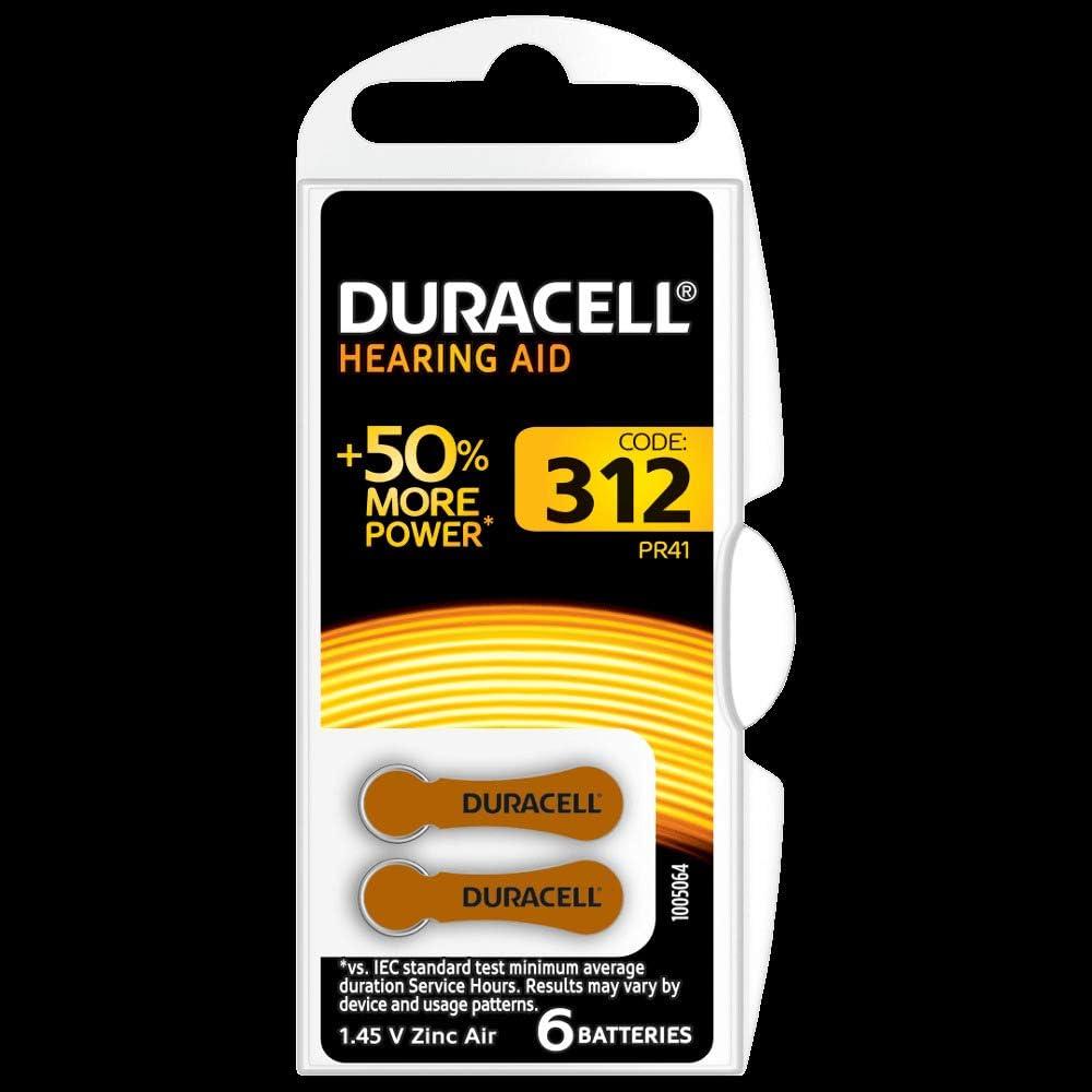 Duracell 312 Activair Hearing Aid Battery Mercury Free Elektronik