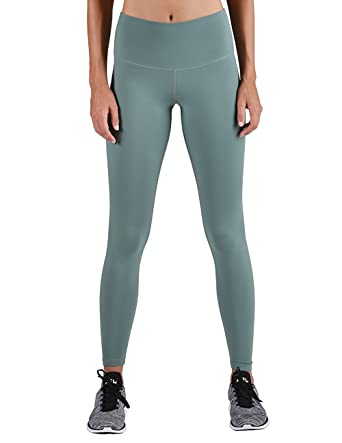 18a5898ace6401 Glyder High Power Legging: Silver Pine at Amazon Women's Clothing store: