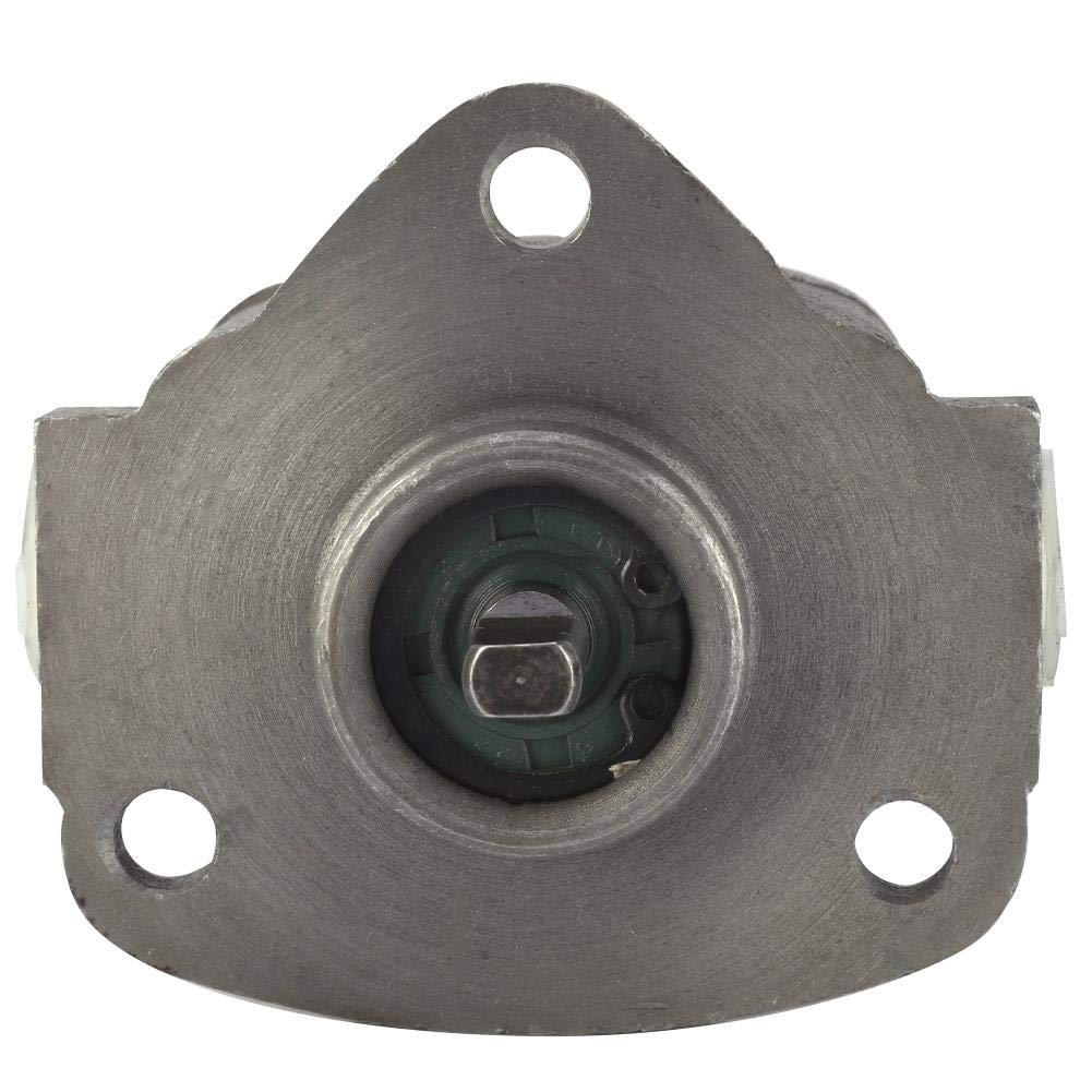 0.5Mpa 1800r//min Gear Oil Pump Insert Type Lubricating Cycloid Gear Pump Drive Shaft Coupling Gear Oil Pump Lubricating Pump 12A