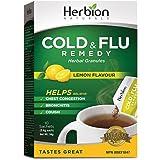 Herbion Naturals Respiratory Care Granules, Lemon, 5.4 Gram 10 Sachets