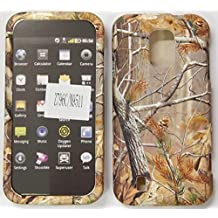 ZTE Majesty Source N9511 / Z796C Leaves, limbs, trees, Brown Green Hunter's Camo Camouflage Hard plastic Easy Snap-On Case Cover leather finish