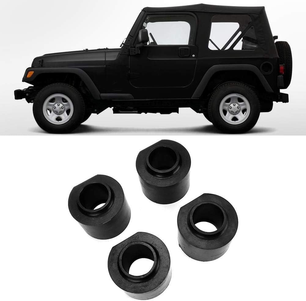 Car Lift Kit,Leveling Lift Kit,4pcs 3inch Front Rear Lift Kit Fit for Jeep Wrangler//Grand Cherokee