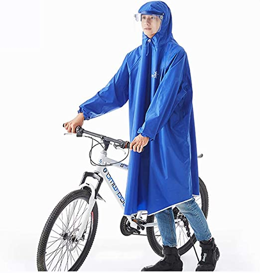 Wenhu Impermeable Impermeable Bicicleta Poncho Hombres Impermeable ...
