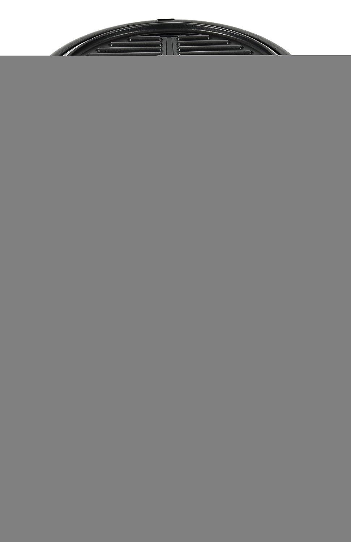 Team Kalorik Barbacoa grill eléctrica con pie y tapa de campana, Diámetro de la parrilla: 39 cm, 1600 W, Negro/Rojo, TKG GRB 1003: Amazon.es: Hogar