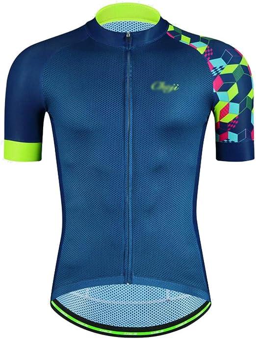 Ciclismo Maillot Jersey, para Hombres, De Manga Corta, para Montar ...