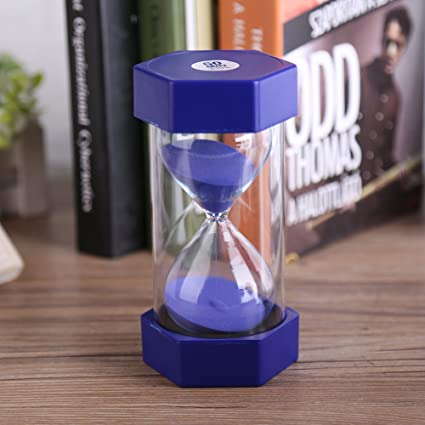 amazon com colorful sand timers hourglass for home office decor