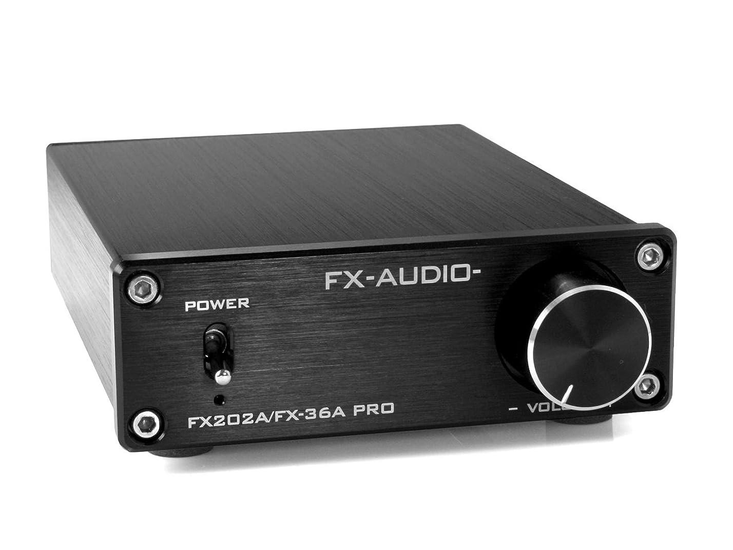 硫黄既にトリップFX-AUDIO- FX202A/FX-36A PRO『シルバー』TDA7492PEデジタルアンプIC搭載 ステレオパワーアンプ