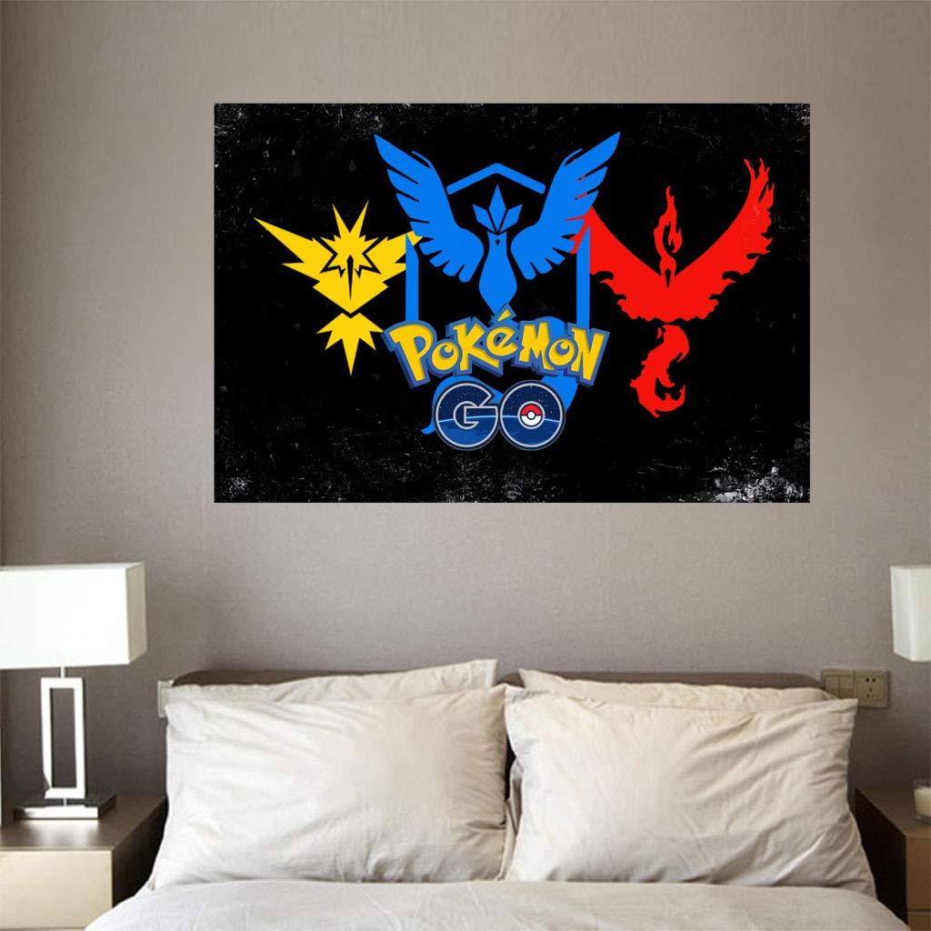 Cordiality Pokémon Go Cute - Pegatinas de Papel Pintado en 3D ...
