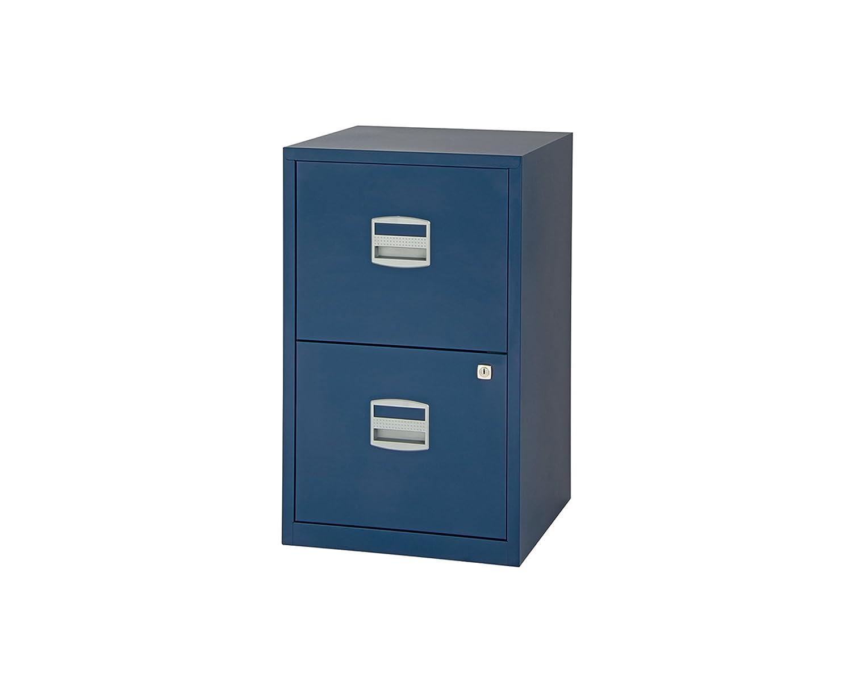 on sale e4f09 83f57 Bisley Metal Filing Cabinet 2 Drawer A4 - Color: Orange
