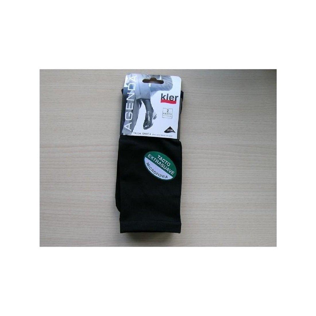kler 6057 - calcetin caballero pack 2 pares. (UNICA, NEGRO): Amazon.es: Ropa y accesorios