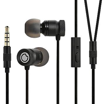 Auriculares con Cable In-ear Estéreo Manos Libre, GGMM Auriculares cancelación de ruido con