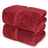 Towel Bazaar 100% Turkish Cotton Bath Sheets, 700 GSM, 35 x 70 Inch