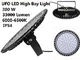 300W UFO LED High Bay Light,33000