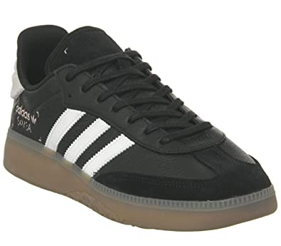 Amazon.com | Adidas Samba Rm Mens Sneakers Black | Fashion ...