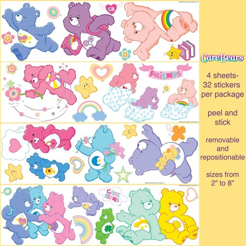 - Brewster Care Bears Wall Accents