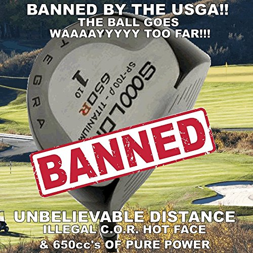Illegal Long Non-Conforming World's #1 Largest Sooolong 650cc Big Custom Golf Driver +30 Yards
