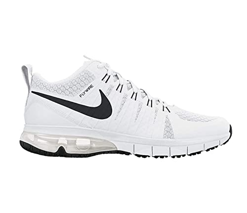 60fb4a5941e7 Nike Men s Air Max TR180 White Black White Pr Platinum Training Shoe 10.5  Men US  Buy Online at Low Prices in India - Amazon.in