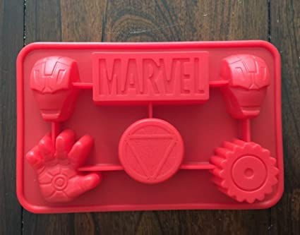 Amazoncom Marvel Ironman the Avengers Silicone Candy chocolate