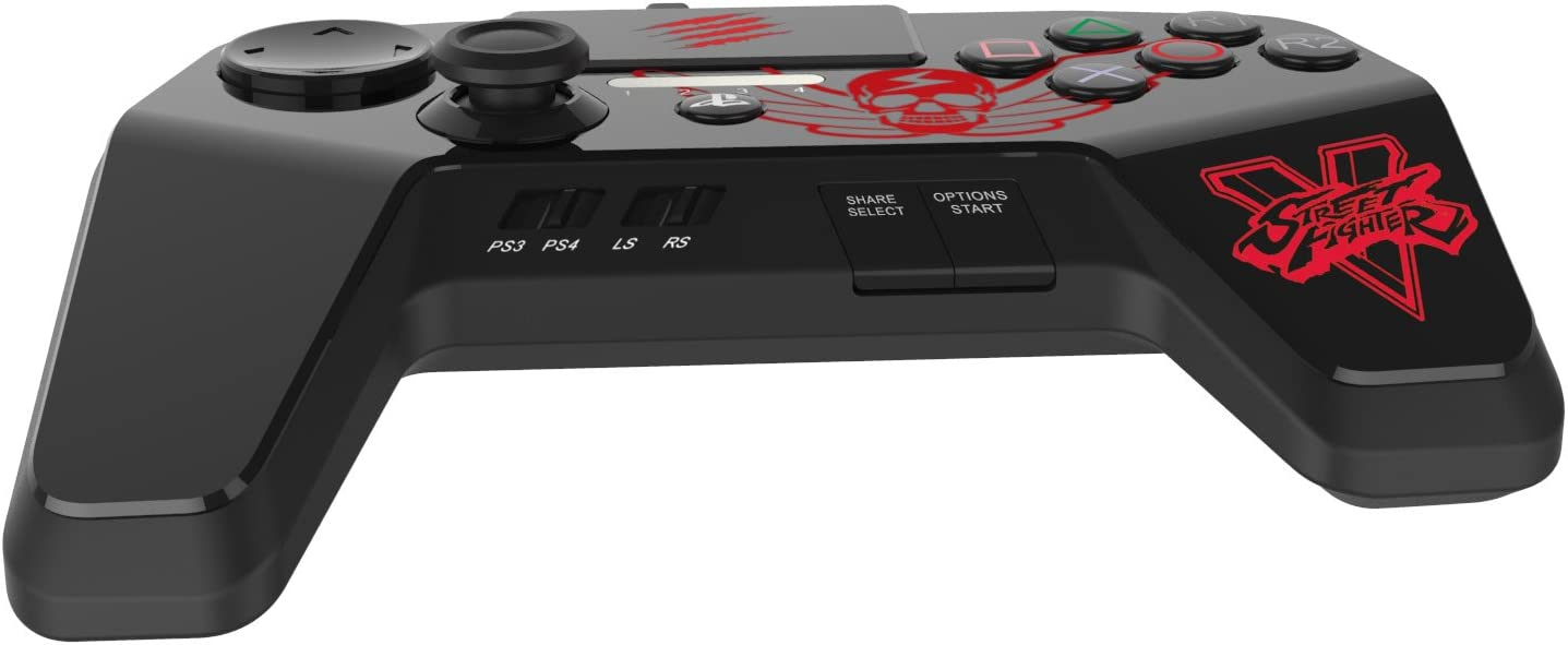 Mad Catz Street Fighter V FightPad PRO for PlayStation4 and ...