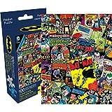 Aquarius DC Comics Batman Collage Adult Pocket Puzzle (100 Pieces)