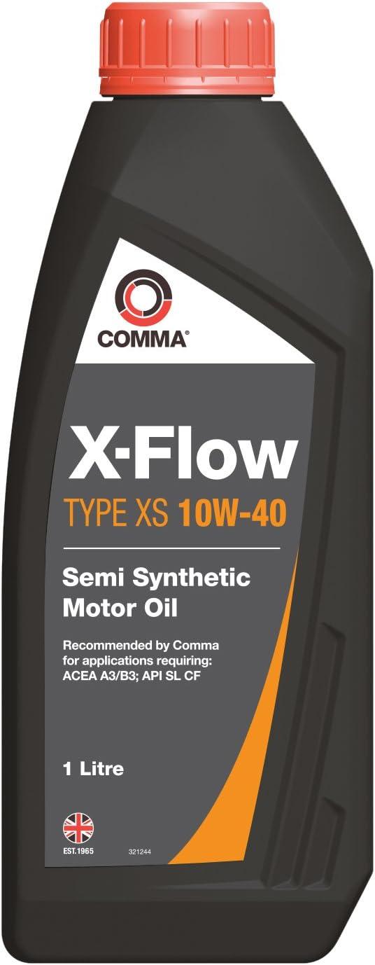 Comma Xfxs1l X Flow Typ Xs 10 W40 Öl 1 Liter Auto