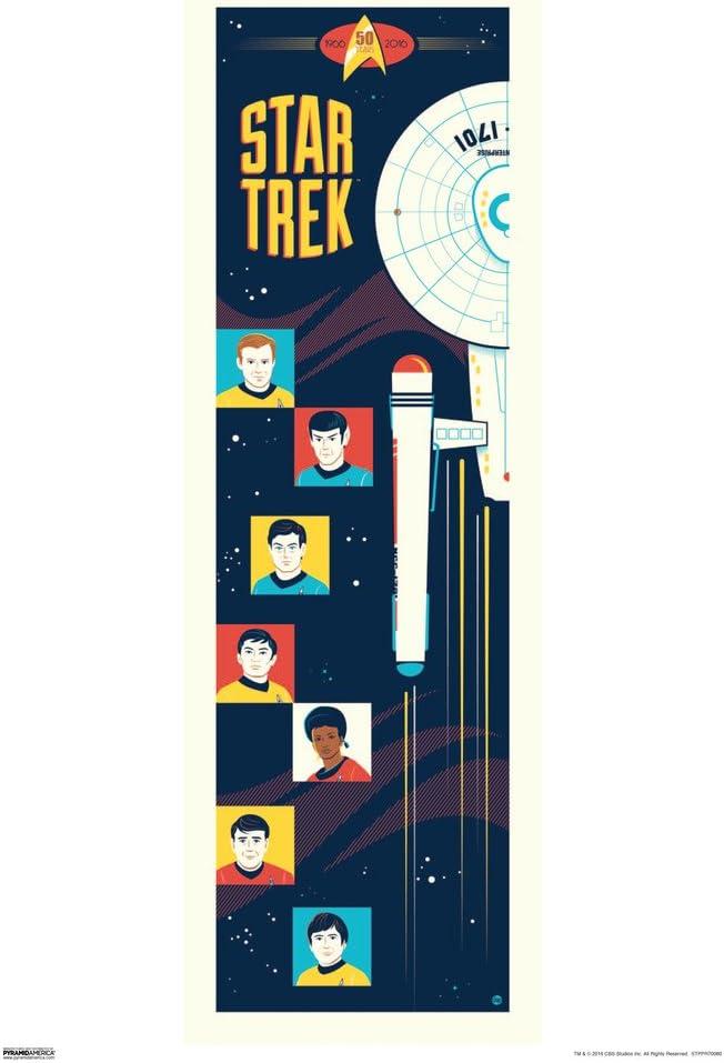 Pyramid America Star Trek Animated Series 50th Anniversary TV Show Cool Wall Decor Art Print Poster 13x19