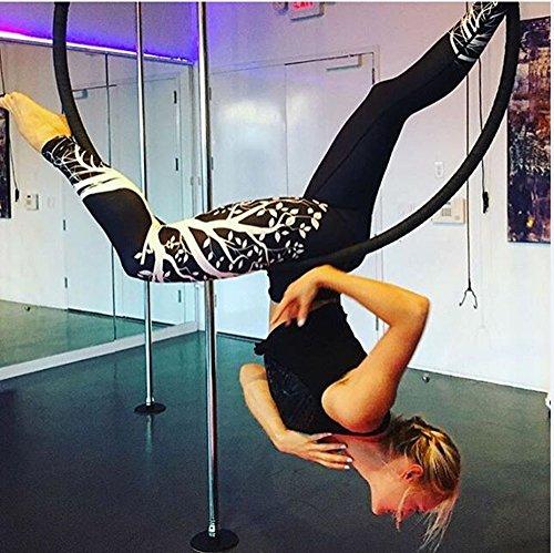 gym Black Eleganti mambain Slim Leggins Taglie Con stampa Skinny fitness Jogging Alta Yoga Donna Per Pantaloni Pantalone Forti Elastico Fit Sportivi Vita wq14XHRO