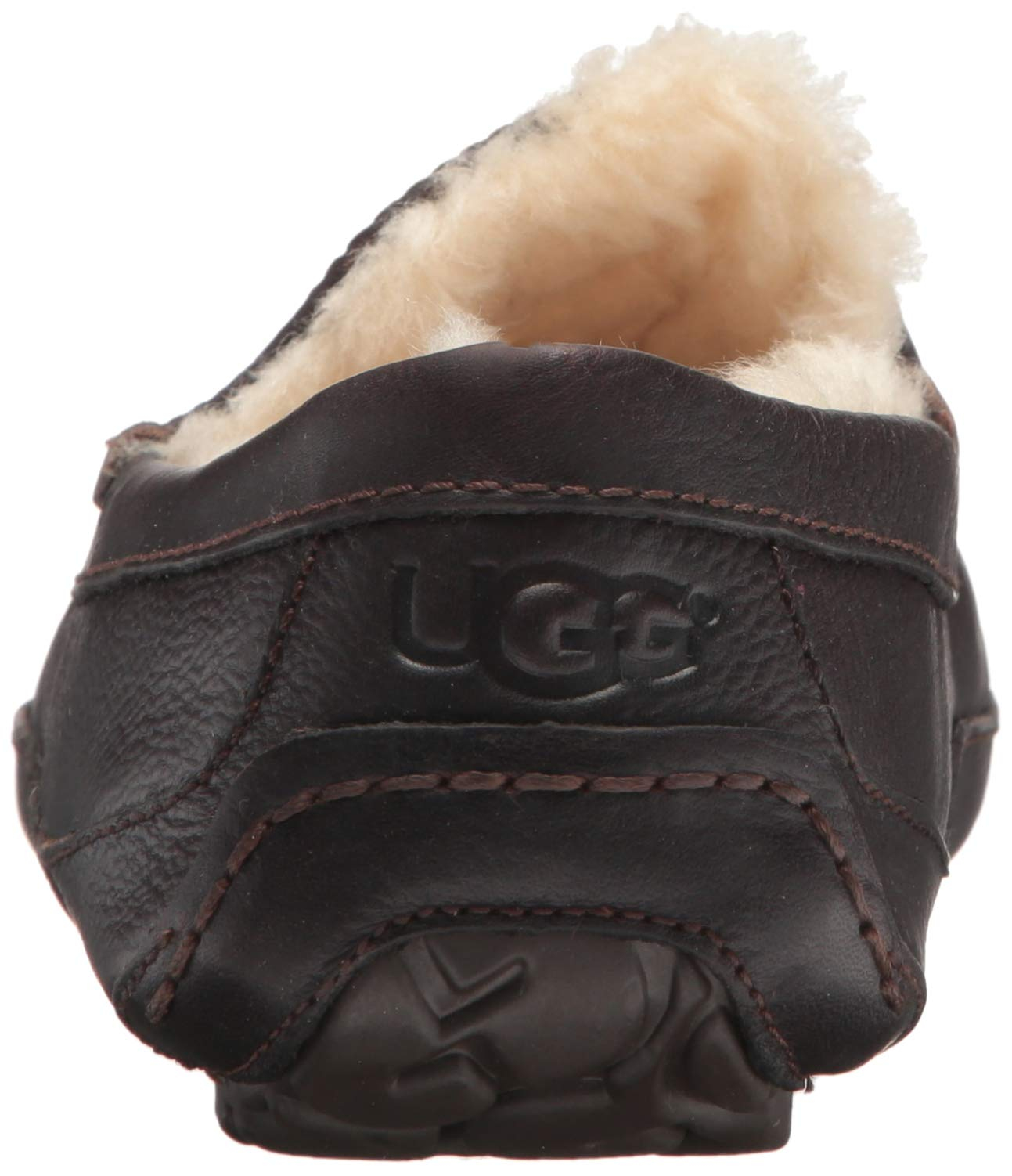 UGG Men's Ascot Slipper, China Tea Leather, 15 M US by UGG (Image #2)