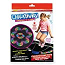 Chalktivity – Creativity in Action – Rainbow Jump Rope with 8 Powdered Chalk Packs