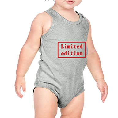 3c1aeef69a74 Limited Edition Style 1 Infant Baby Tank Bodysuit Heather Gray 6 Months