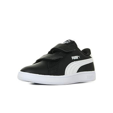 Puma Unisex Kids Smash V2 L V Ps Low-Top Sneakers  Amazon.co.uk ... c1545504b