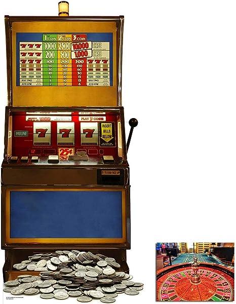 Starstills Uk Fan Packs Fruit Machine One Armed Bandit Poker Night Lifesize Cardboard Cutout Standee Standup Includes 8x10 20x25cm Star Photo Home Kitchen