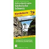 Nationalparkregion Sächsische Schweiz: Wanderkarte mit Malerweg und Elberadweg, wetterfest, reissfest, abwischbar, GPS-genau. 1:25000
