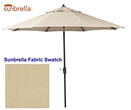 Amazon Com Bayside 21 Patio Umbrella 9 Ft Sunbrella Aluminum