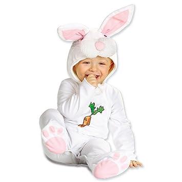 Disfraz de conejito para bebé disfraz de conejo blanco ...