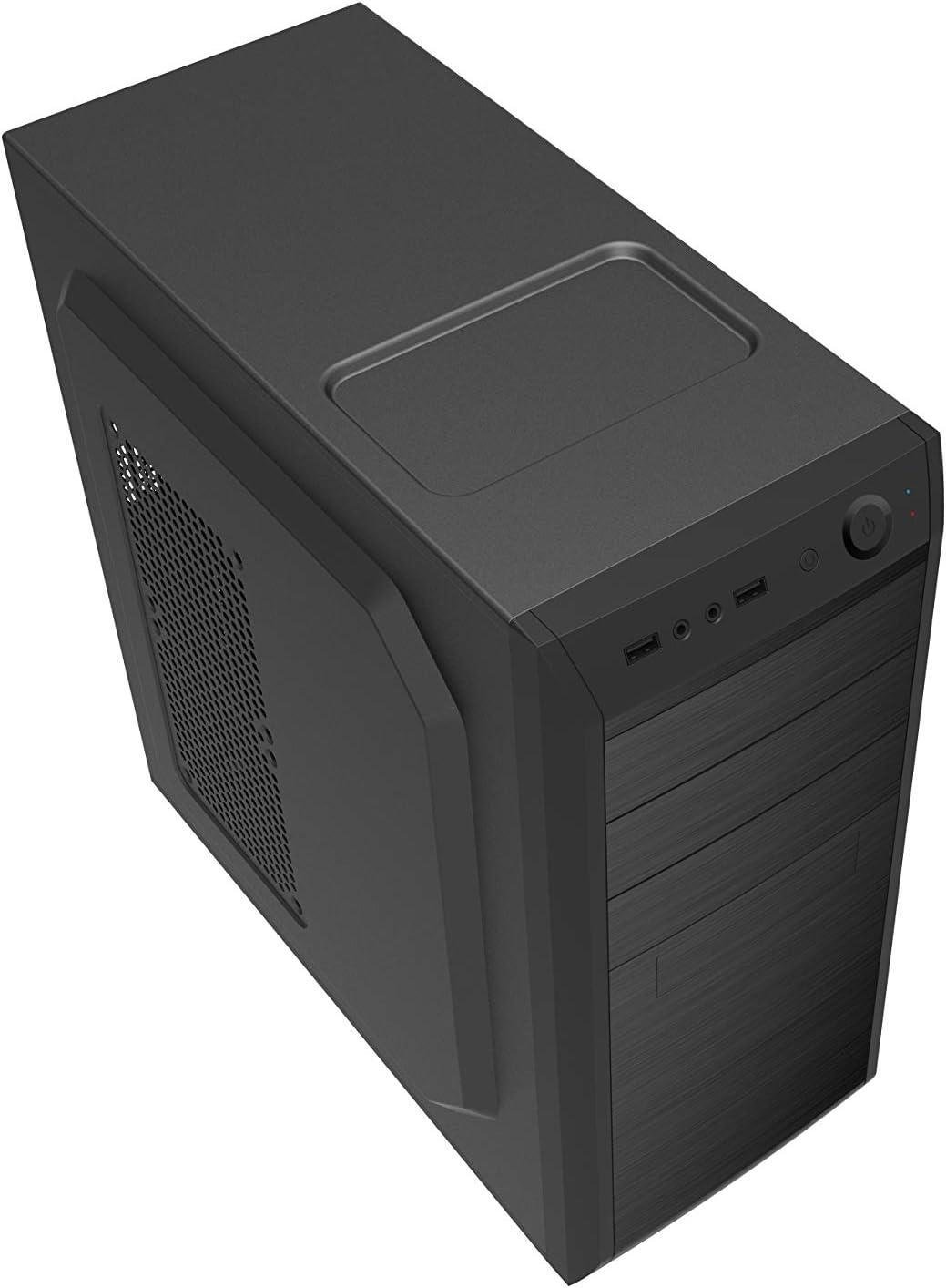 CoolBox F-750 Carcasa de Ordenador Negro - Caja de Ordenador (PC, ATX, Negro, 120 mm, 90,120 mm, 2.5,3.5,5.25