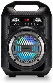 Caixa De Som 6 Em 1 Multilaser Bluetooth 4 Pol. 50W Rms Karaokê Rádio Fm - SP255