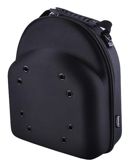720d0460d16 Galexbit Baseball Hat case Cap Carrier Case Holder for 3 Caps Hat bag for  Travel(